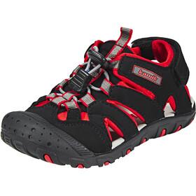 Kamik Oyster Sandals Kids Black/Red